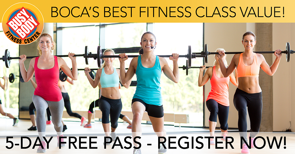 5-Day Free Trial Gym Pass